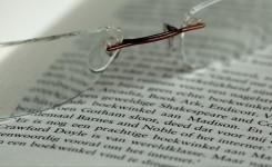 Boek en leesbril